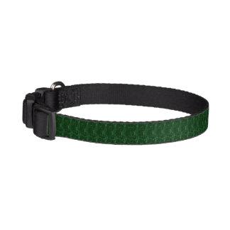 ドッグカラー-美しい緑 ペット首輪