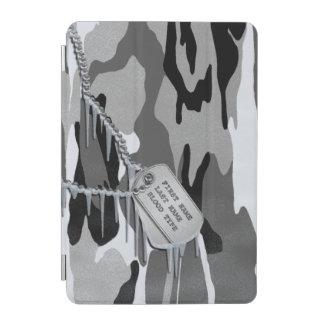 ドッグタッグとの北極迷彩柄 iPad MINIカバー