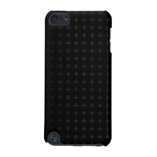 ドット・パターンが付いている黒い金属 iPod TOUCH 5G ケース