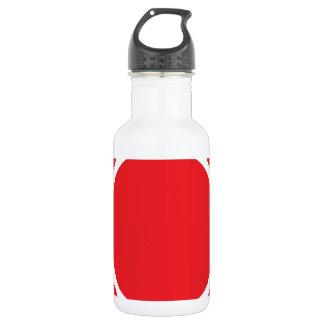 ドット・パターン2の赤 532ML ウォーターボトル