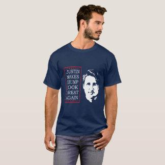 ドナルドの一見によいジャスティンをして下さい Tシャツ