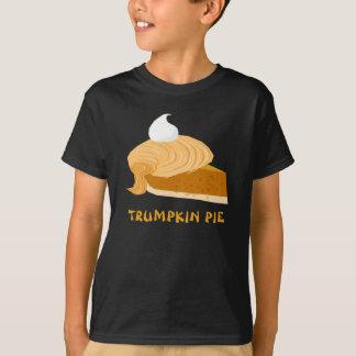 ドナルド・トランプおもしろいなTrumpkinパイ Tシャツ