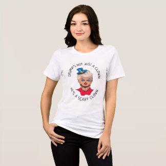ドナルド・トランプちょうどピエロのワイシャツではなく Tシャツ