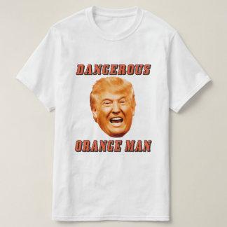 ドナルド・トランプのワイシャツ|の危ないオレンジ人 Tシャツ
