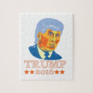 ドナルド・トランプの共和党員2016年 ジグソーパズル
