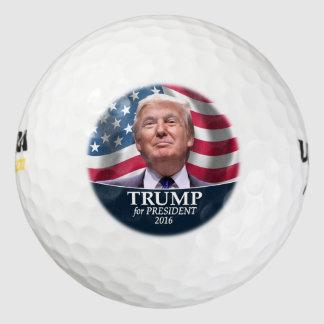 ドナルド・トランプの写真-大統領2016年 ゴルフボール