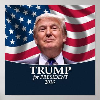 ドナルド・トランプの写真-大統領2016年 ポスター