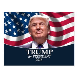ドナルド・トランプの写真-大統領2016年 ポストカード