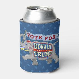 ドナルド・トランプの大統領2016共和党員象 缶クーラー