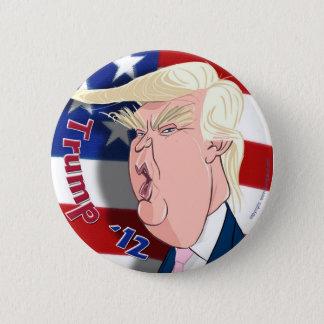 ドナルド・トランプの漫画のコレクターのボタン 5.7CM 丸型バッジ