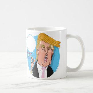 ドナルド・トランプの漫画のコーヒー・マグ-キャプションを書きます コーヒーマグカップ