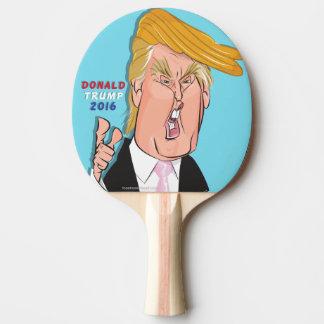 ドナルド・トランプの漫画の卓球ラケット 卓球ラケット