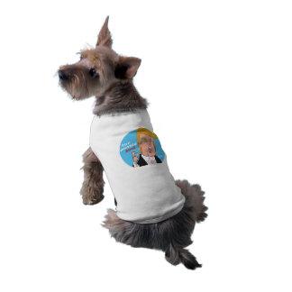 ドナルド・トランプの2016年の漫画犬のTシャツ ペット服