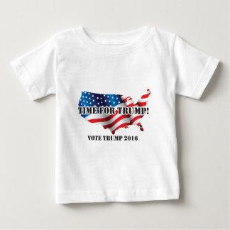 ドナルド・トランプのTシャツ ベビーTシャツ