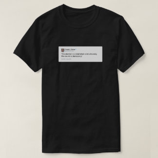 ドナルド・トランプのTwitter 2012年11月6日 Tシャツ