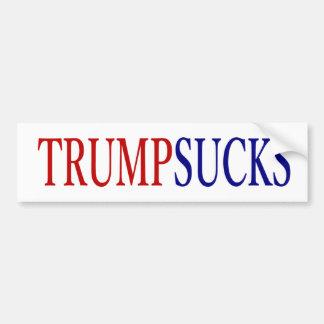 ドナルド・トランプは#大統領吸います バンパーステッカー