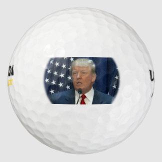 ドナルド・トランプウイルソン超500のゴルフ・ボール ゴルフボール