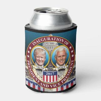 ドナルド・トランプマイクのペニーの大統領のな就任式 缶クーラー