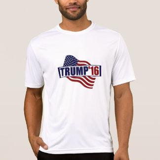 ドナルド・トランプ米国の旗 Tシャツ