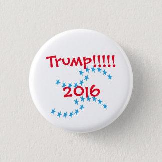 ドナルド・トランプ2016の星の選挙のギア 3.2CM 丸型バッジ