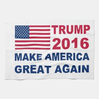 ドナルド・トランプ2016はアメリカを素晴らしく再度させます タオル
