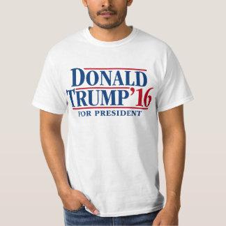 ドナルド・トランプ」大統領のための16 Tシャツ