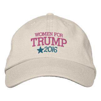 ドナルド・トランプ-大統領2016年のための女性 刺繍入りキャップ