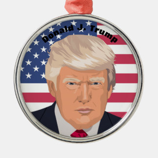 ドナルドJ. Trump Commemorative大統領のオーナメント メタルオーナメント