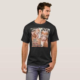 ドニーズのチェンバレンのVitiligoのTシャツ(引用文) Tシャツ