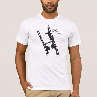 ドハ空港ワイシャツ Tシャツ