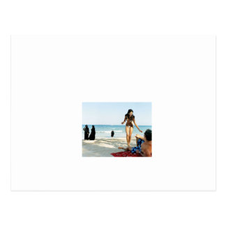 ドバイのビーチの眺め ポストカード