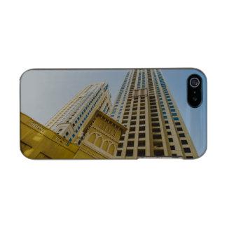 ドバイのマリーナの建築 メタリックiPhone SE/5/5sケース