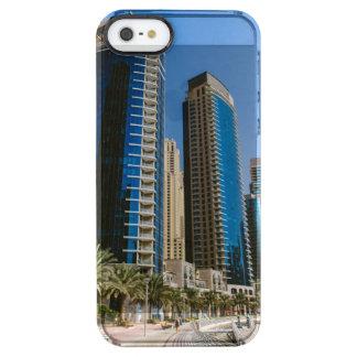 ドバイのマリーナの超高層ビル クリア iPhone SE/5/5sケース