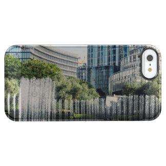 ドバイのモールの噴水 クリア iPhone SE/5/5sケース