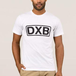 ドバイの国際空港コード Tシャツ