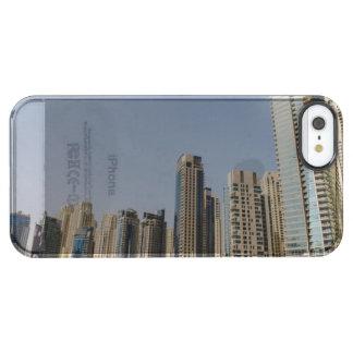 ドバイの建築 クリア iPhone SE/5/5sケース