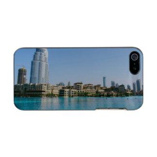 ドバイの建築 メタリックiPhone SE/5/5sケース