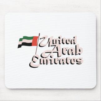 ドバイの旗アラブ首長国連邦 マウスパッド