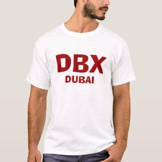 ドバイDBXドバイの国際空港のワイシャツ Tシャツ
