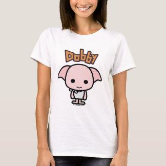 ドビーのマンガのキャラクタの芸術 Tシャツ