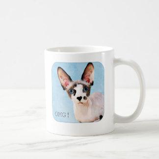"""ドビーは""""OMGを言います! """" コーヒーマグカップ"""