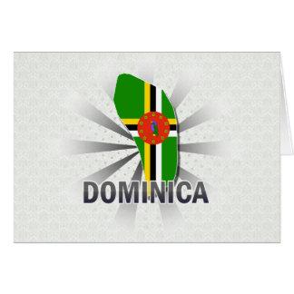 ドミニカの旗の地図2.0 カード