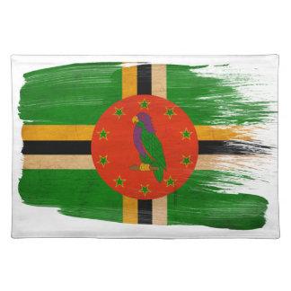 ドミニカの旗 ランチョンマット