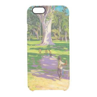 ドミニカコオロギのマッチの植物園 クリアiPhone 6/6Sケース