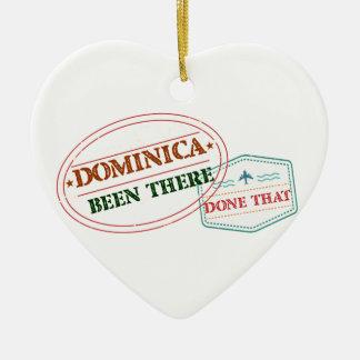 ドミニカ共和国そこにそれされる セラミックオーナメント