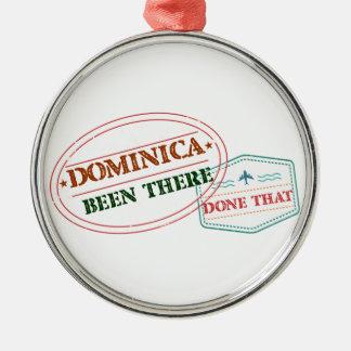 ドミニカ共和国そこにそれされる メタルオーナメント