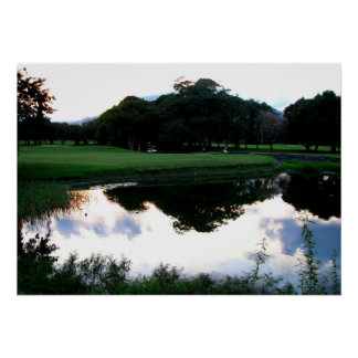 ドミニカ共和国のゴルフコース ポスター