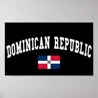 ドミニカ共和国のスタイル ポスター