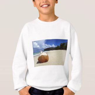 ドミニカ共和国のビーチ スウェットシャツ