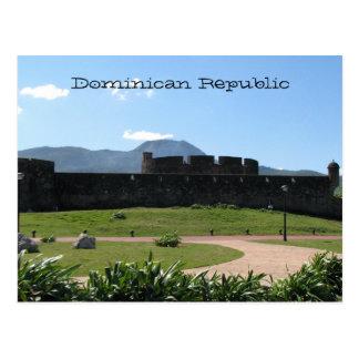 ドミニカ共和国の城砦 ポストカード